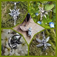 Elves, Fairies, Witches & Valkyries Jewelry