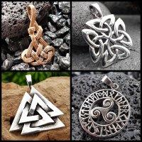 Triskel / Celtic knot / Triquetra / Valknut