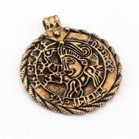 """""""Brakteat von Vadstena"""" Bronze Amulett"""