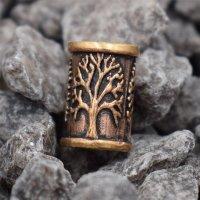 Lebensbaum Bartperle aus Bronze