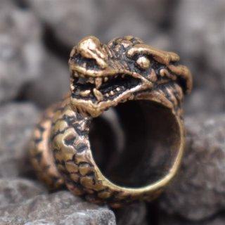 Drachen Bartperle aus Bronze