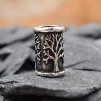 Lebensbaum Bartperle aus 925 er Sterling Silber
