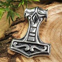 "Thors Hammer ""Donar"" Anhänger aus Edelstahl"