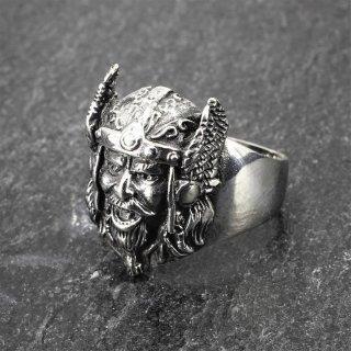 """Ring eines gallischen Häuplings """"Vercingetorix"""" aus Edelstahl"""
