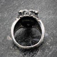 "Wolf Ring ""Fenris"" aus Edelstahl 68 (21,6) / 12 US"