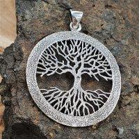 """Yggdrasil Anhänger """"Weltenbaum"""" aus Silber"""