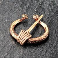 "Ringfibel - Hufeisenfibel ""GOTLAND"" aus Bronze"