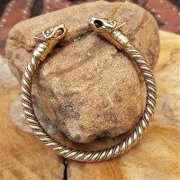 """""""FENRIR"""" Wikinger wolf Armband aus Bronze"""