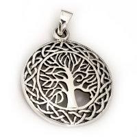 "Lebensbaum Anhänger ""LILLA"", aus 925er Sterling Silber"