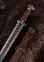 """Wikinger-Schwert """"Godfred"""" mit Damaststahlklinge"""