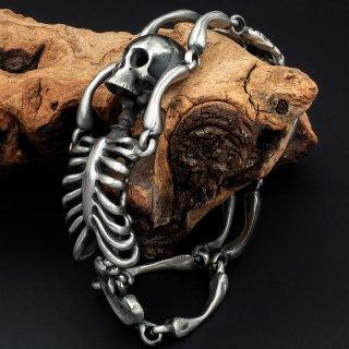 """Armband """"Der Tote Wikinger"""" aus Edelstahl (mattiert)"""