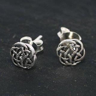 """Keltischer Knoten Ohrstecker """"JUNA"""" aus 925er Sterling Silber"""