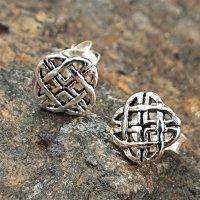"Keltischer Knoten Ohrstecker ""YELVA"" aus 925er Sterling Silber"
