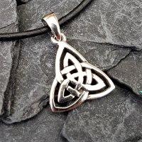 Keltischer Dreiheits-Symbol Schmuck Anhänger aus...