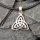 Keltischer Dreiheits-Symbol Schmuck Anhänger aus 925er Sterling Silber