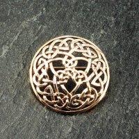 "Keltische Rundfibel ""SELMA"" aus Bronze"