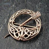 """Fibel - Keltisch """"KYRI"""" aus Bronze"""