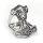 """Thors Hammer """"ODIN"""" Ring aus Edelstahl 63 (20,1) / 10 US"""