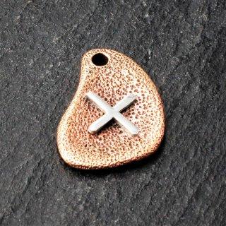 Bronzeanhänger - Rune aus 925er Sterling Silber - Gebo