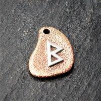 Bronzeanhänger - Rune aus 925er Sterling Silber -...