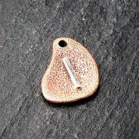 Bronzeanhänger - Rune aus 925er Sterling Silber - Isa