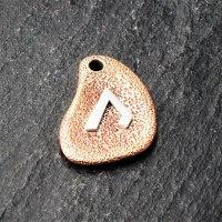 Bronzeanhänger - Rune aus 925er Sterling Silber - Uruz
