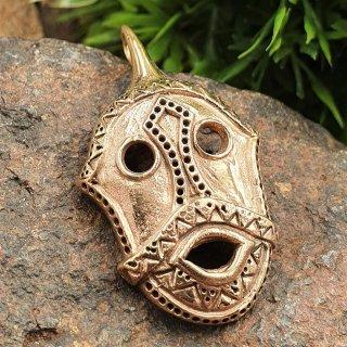 Loki Amulett - Bitterstad - aus Bronze