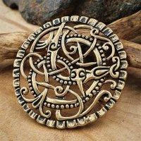 Pitney-Brosche der späten Wikinger-Zeit aus Bronze