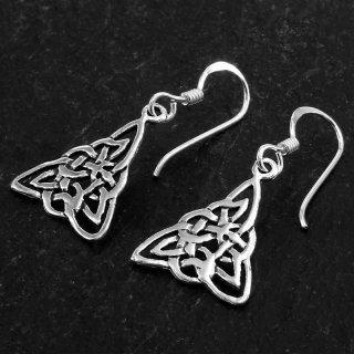 "Keltischer Knoten Ohrhänger ""ATORKA"" aus 925er Sterling Silber"
