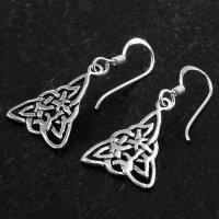 """Keltischer Knoten Ohrhänger """"ATORKA"""" aus..."""