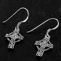"""Keltisches Kreuz Ohranhänger """"DRIFA"""" aus..."""