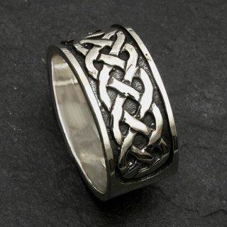 Keltischer Knoten Ring aus 925er Sterling Silber 52 (16,6) / 6 US