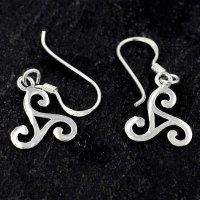 """Triskelen Ohrhänger """"RIGANI"""" aus 925er Sterling Silber"""