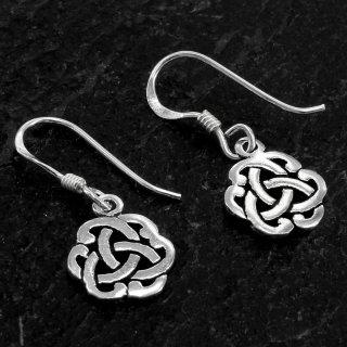 "Keltischer Knoten Ohrhänger ""ALENIA"" aus 925er Sterling Silber"
