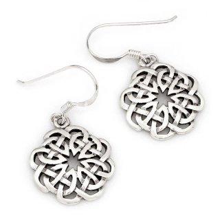 """Keltischer Knoten Ohrhänger """"EIMYRJA"""" aus 925er Sterling Silber"""