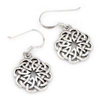 """Keltischer Knoten Ohrhänger """"EIMYRJA"""" aus..."""