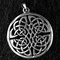 """Keltischer Knoten Anhänger """"HOLMGER"""" aus..."""