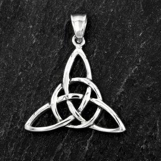 """Keltischer Knoten Anhänger """"DOBAIN"""" aus Edelstahl"""