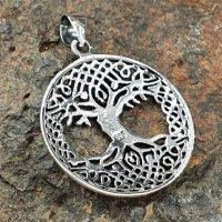 Yggdrasil Anhänger aus 925 Sterling Silber