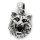 Kleiner Wolfskopf Schmuck Anhänger aus 925 Sterling Silber
