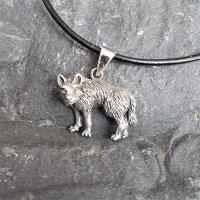 Fenriswolf Schmuck Anhänger aus 925 Sterling Silber