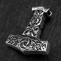 "Massiver Thors Hammer Anhänger ""KNUT"" aus..."