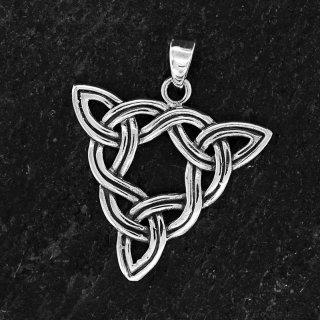 """Keltischer Knoten Anhänger """"Borga"""" aus 925 Sterling Silber"""