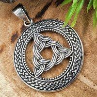 """Keltischer Knoten Anhänger """"Cecilia"""" aus 925 Sterling Silber"""