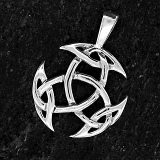 "Keltischer Knoten Anhänger ""Dýrfinna"" aus 925 Sterling Silber"