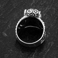 Mjölnir Thors Hammer Ring aus 925 Sterling Silber 52 (16,6) / 6 US