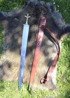 Keltisches Langschwert mit Scheide