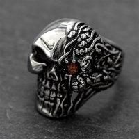 """Ring der Totengöttin """"HEL"""" aus Edelstahl"""