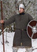 Kettenhemd, Hauberk, Aluminium vernietet, ID 8 mm Large: 140 cm x 110 cm x 54 cm - 6,1 kg