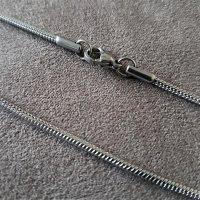 """2mm Schlangenkette """"Jörmungandr"""" aus Edelstahl 90cm"""